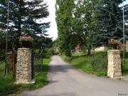 Einfahrt zum Rittergut in Endschütz